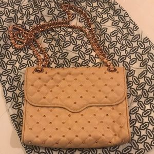 Rebecca Minkoff studded quilted affair
